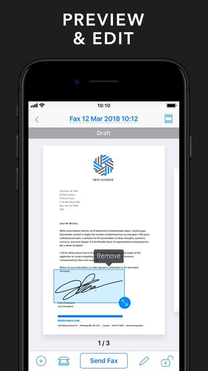 Fax from iPhone - Send Fax App screenshot-3