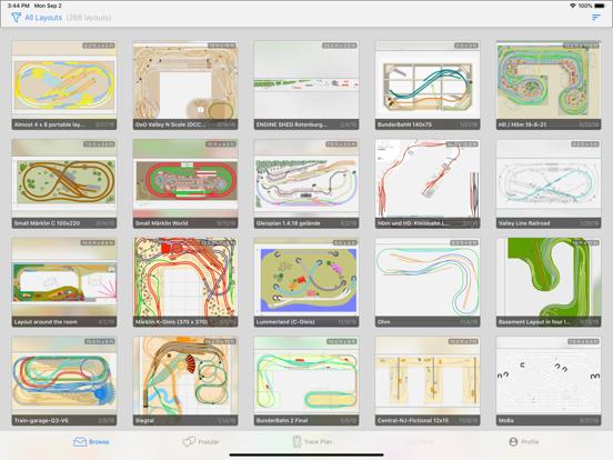 Train Layouts Screenshots