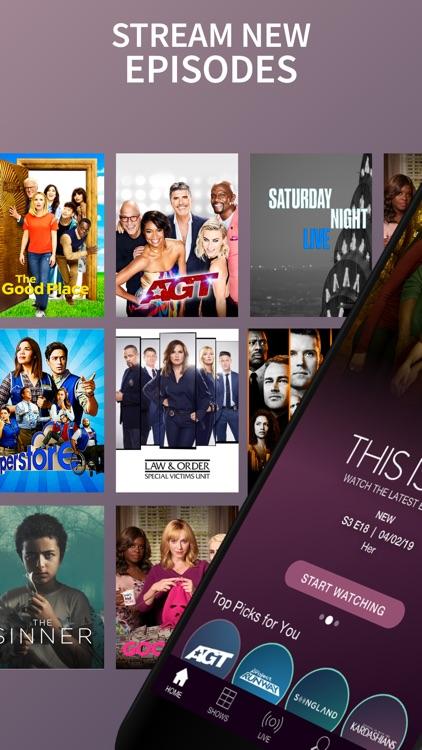 The NBC App – Stream TV Shows screenshot-0