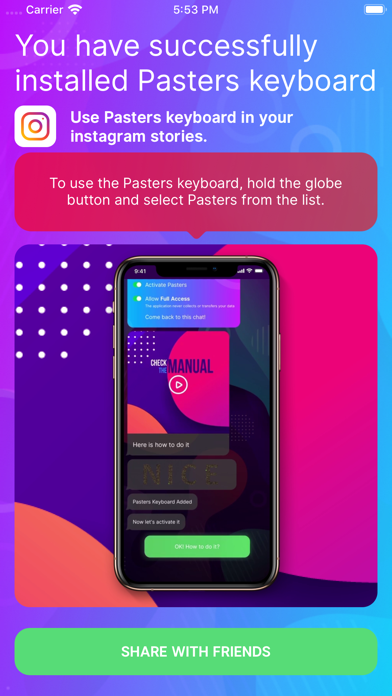 Pasters: Fonts for GIF texting screenshot 3