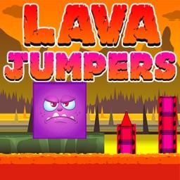 Lava Jump – Cube Run and Jump