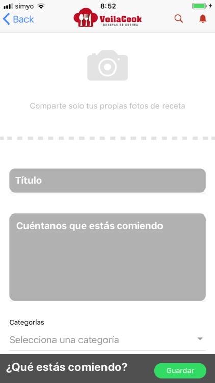 VoilaCook-Recetas de Cocina screenshot-5