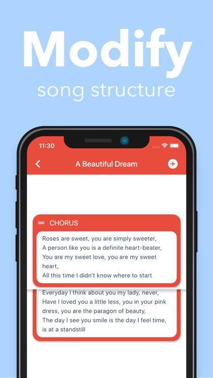 Lyrical screenshot-3