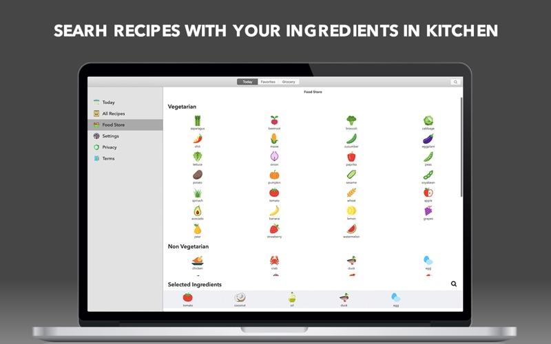 Food Book Recipes for Mac