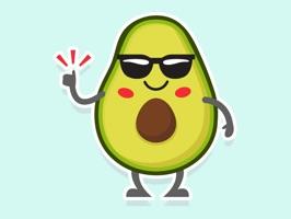 Avocado: Animated Stickers