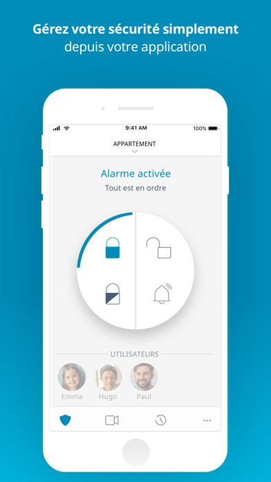 Screenshot #1 pour Somfy Protect