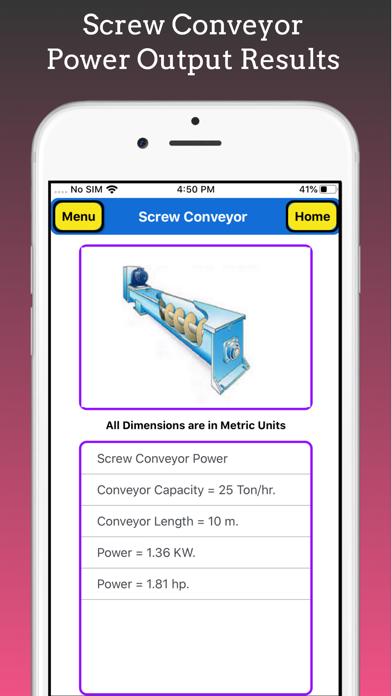 Screw Conveyor Pro screenshot 8