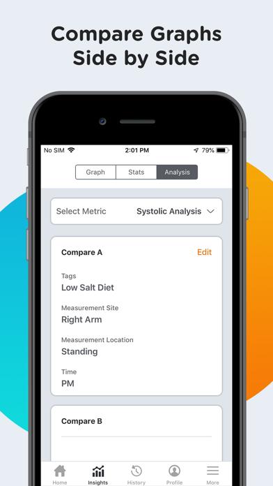 Screenshot for Blodtryk - SmartBP in Denmark App Store