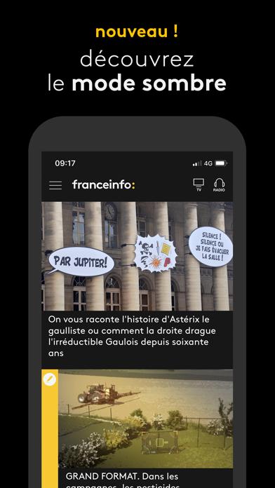 Screenshot #2 pour franceinfo: l'actu en continu