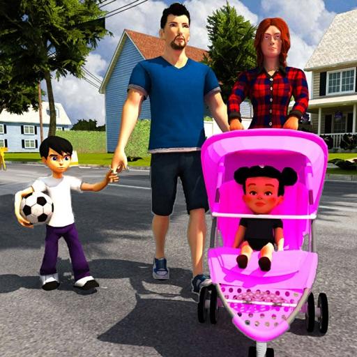 виртуальная мать: детская игра