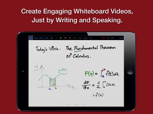 ‎Vittle Pro Video Whiteboard Screenshot