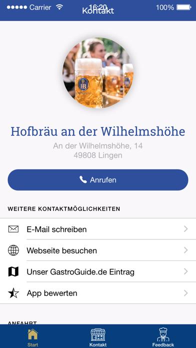 Hofbräu an der Wilhelmshöhe screenshot two