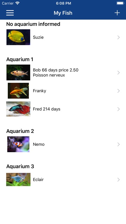 Aquarium Manager screenshot-3
