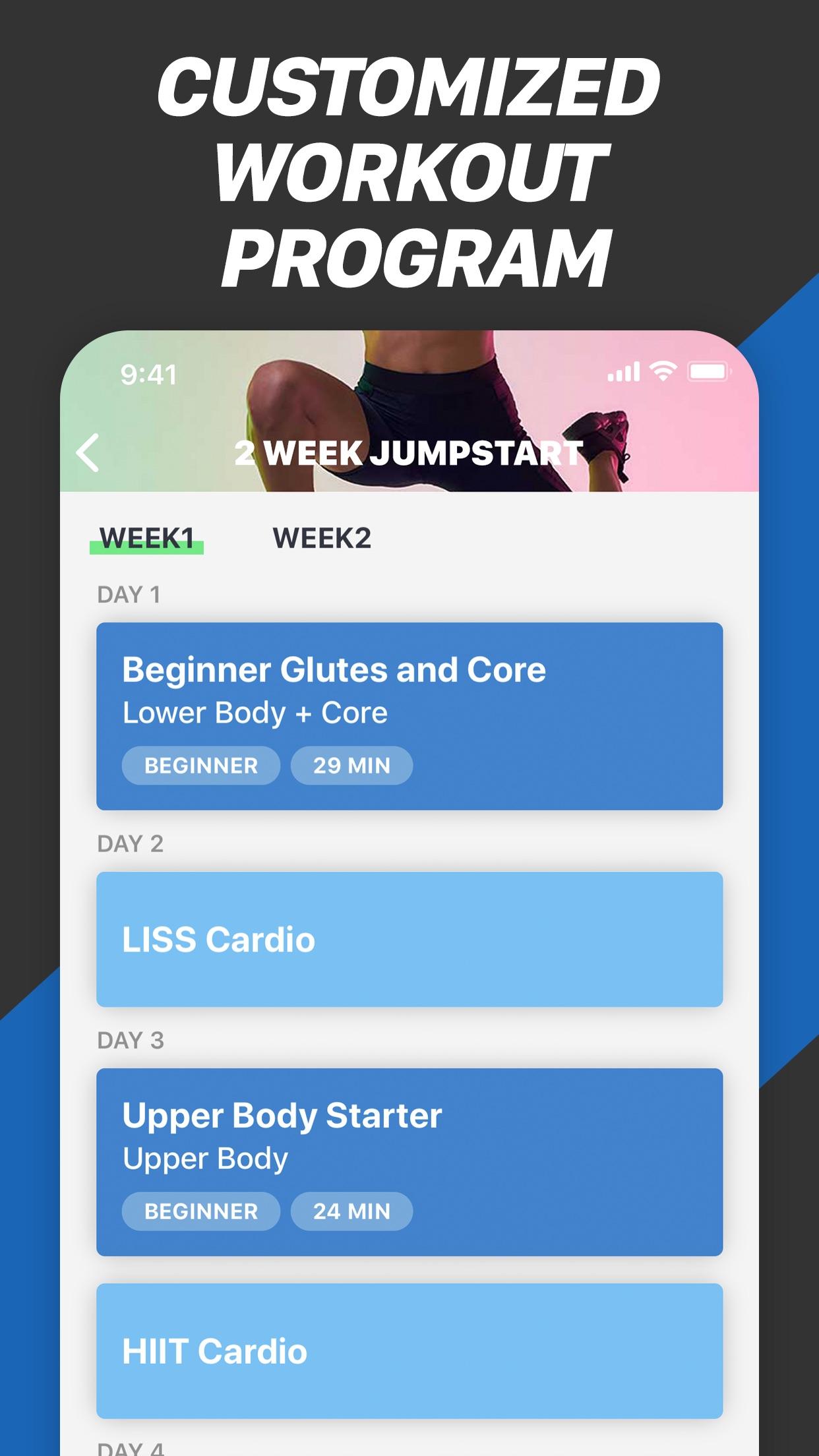 Fitness Buddy+ Train At Home Screenshot