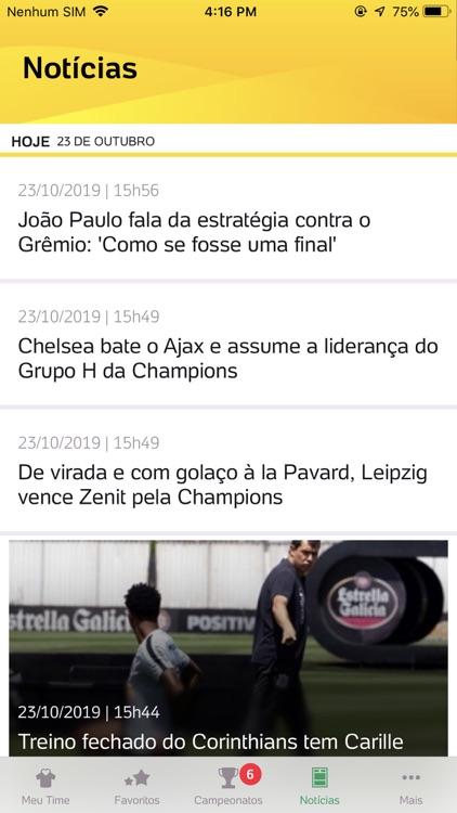Placar UOL - Futebol