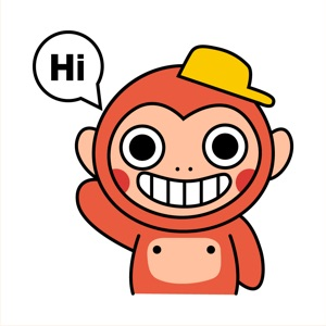 Friendly Monkey Animated