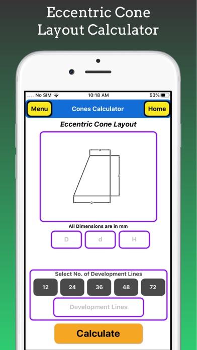 Cones Calculator Pro screenshot 7