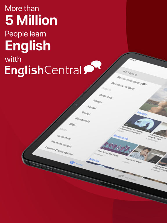 Screenshot #4 pour EnglishCentral - Learn English