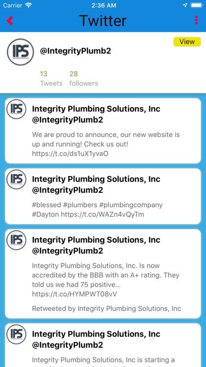 Integrity Plumbing Solutions