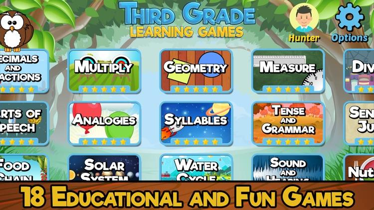 Third Grade Learning Games SE screenshot-0