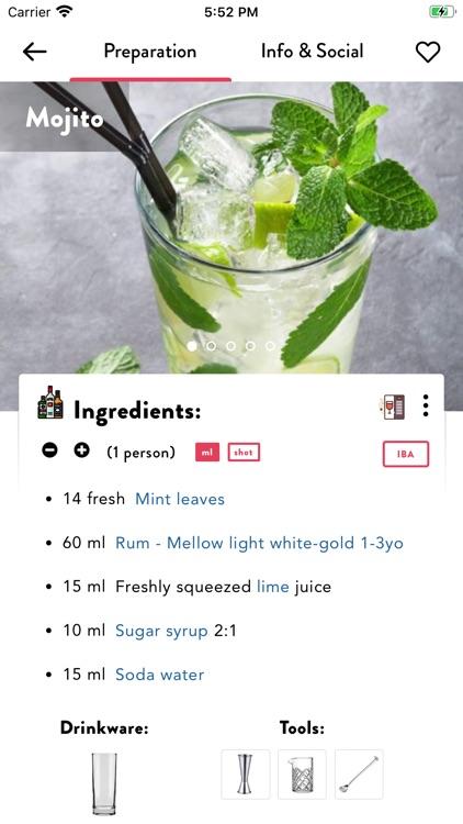 Cocktails App: Drinks Database