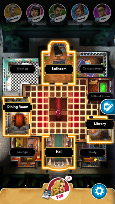 Clue: The Classic Mystery Game Screenshot