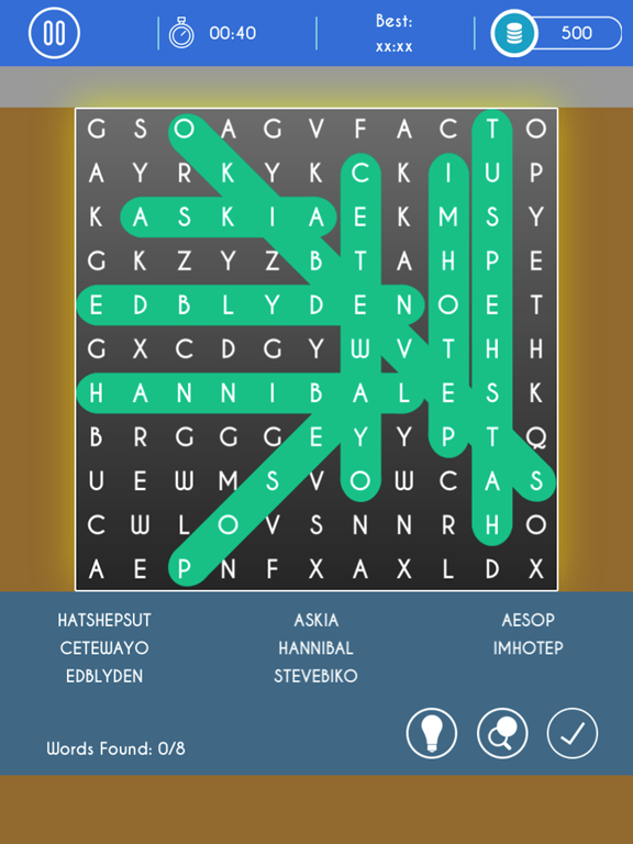 WordDict : Word Search Puzzles screenshot 9