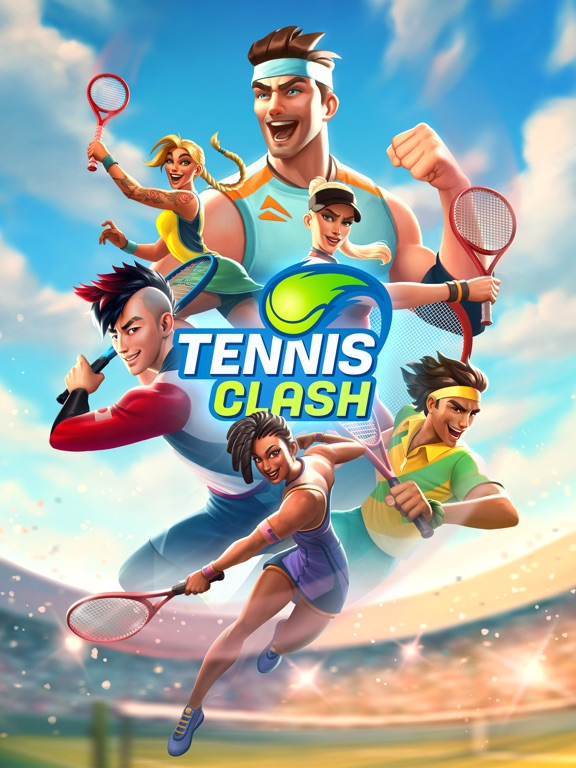 Tennis Clash: Fun Sports Games screenshot 10