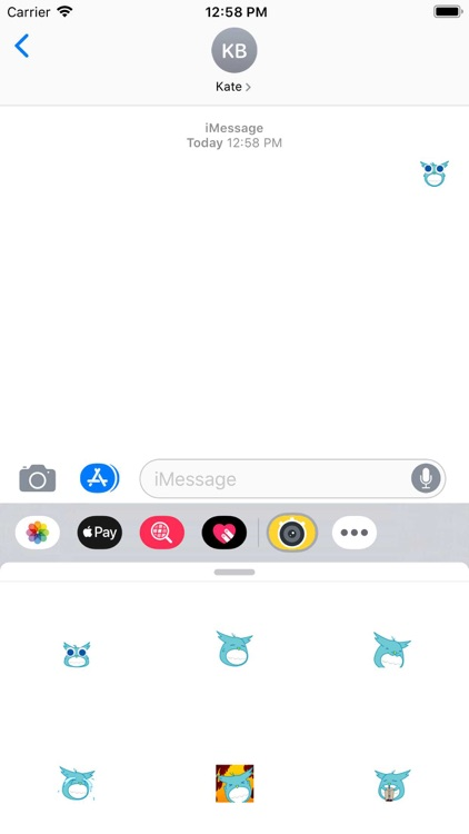 Dynamic blue cute bird-八一六 screenshot-4