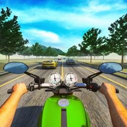 Expressway Motorbike Riding