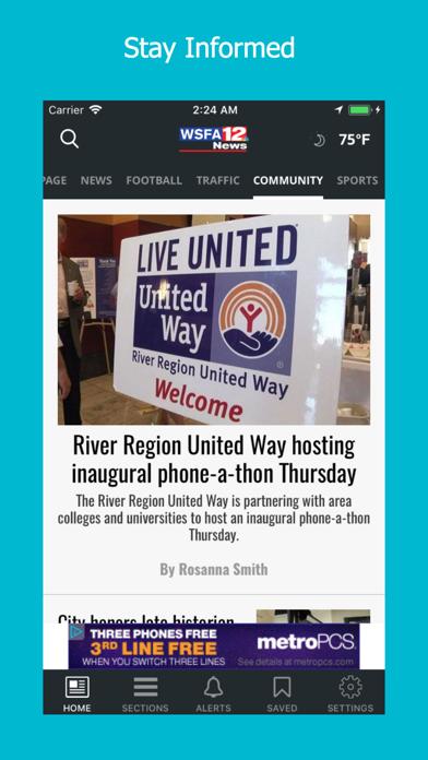 WSFA 12 News by WSFA, LLC (iOS, United States) - SearchMan