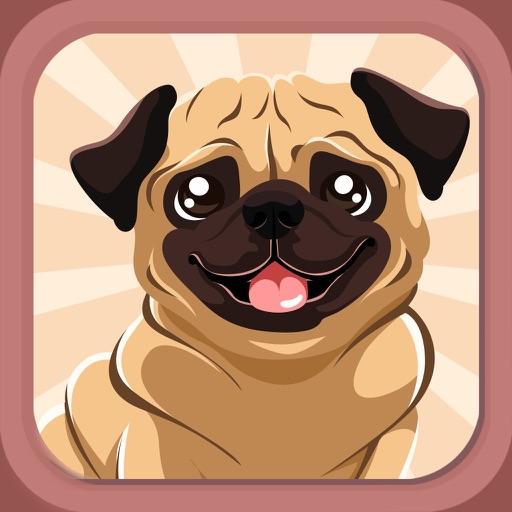 Pug Puppy Dog Emoji & Stickers