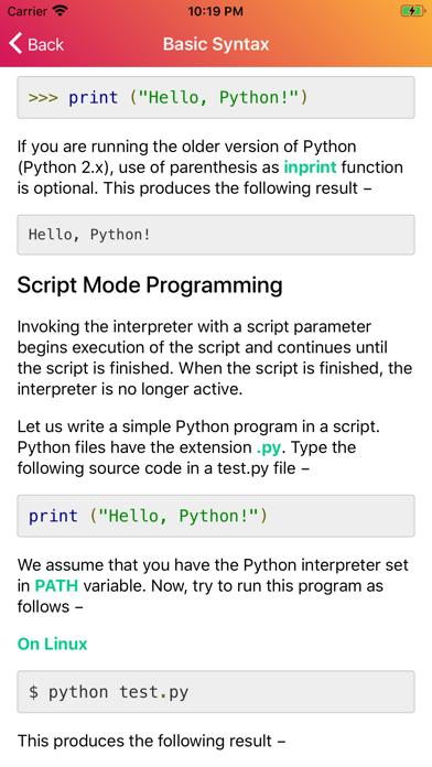 Learn Python 3 Programming screenshot 6