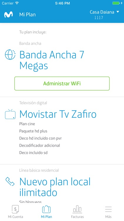 Mi Movistar Colombia screenshot-4