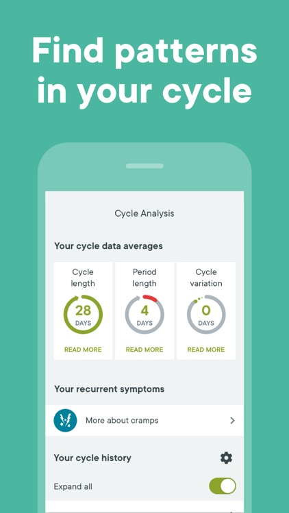 Clue Period & Cycle Tracker screenshot-8
