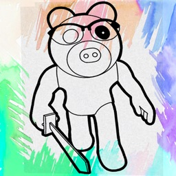 Coloring Piggy Fanart !