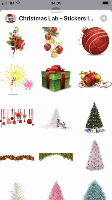 Screenshot #3 pour Christmas Lab - Stickers Image