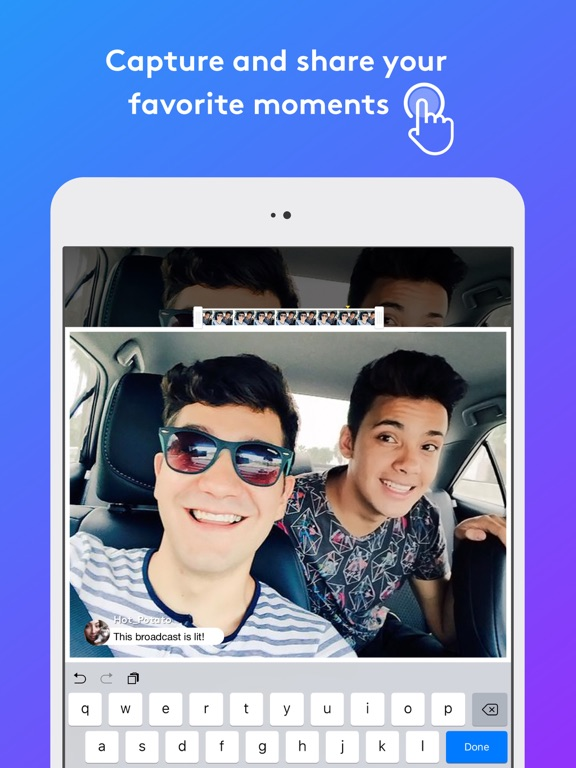 YouNow: Live Stream Video Chat-ipad-1