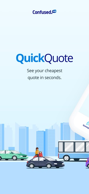 Confused Com Quickquote On The App Store