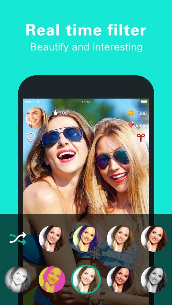 AHA: random video chat App for iPhone - Free Download AHA