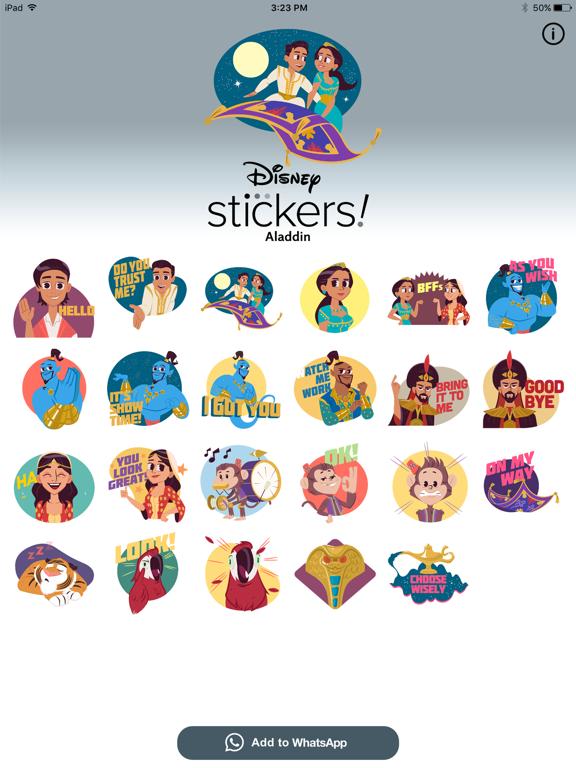 Disney Stickers: Aladdin screenshot 7