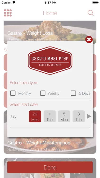 Gastro Meal Prep screenshot-3