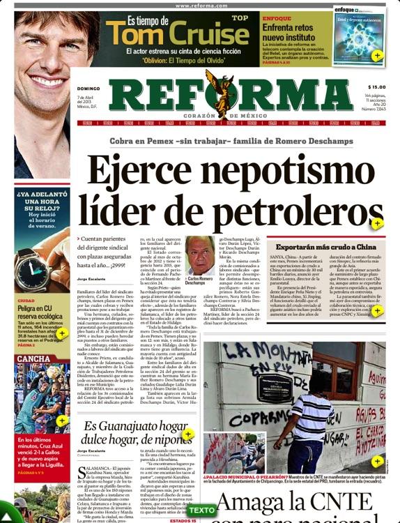 REFORMA (en línea +impreso) screenshot-3