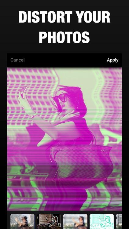 3D Photo Effect- Glitch Editor screenshot-4