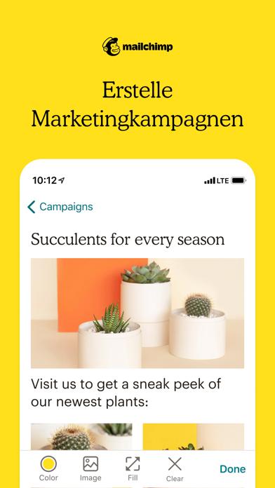 Mailchimp Marketing & CRMScreenshot von 1