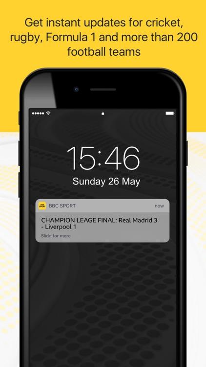BBC Sport - News & Live Scores screenshot-4