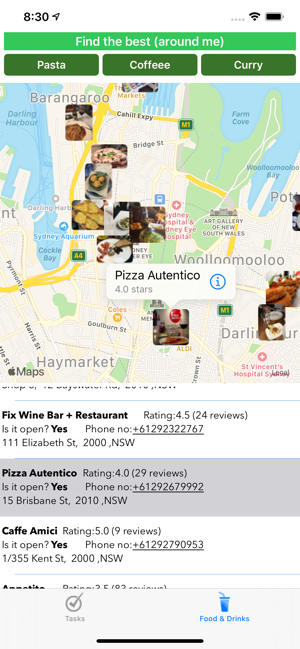 ‎Simple 'N' Easy: Todos & food Screenshot