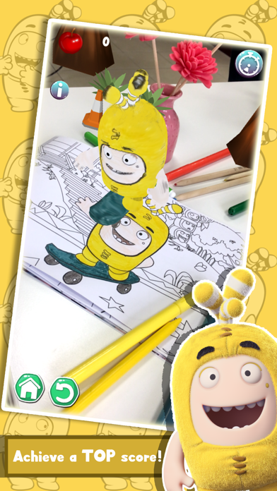 Oddbods Live Coloring (AR) screenshot four