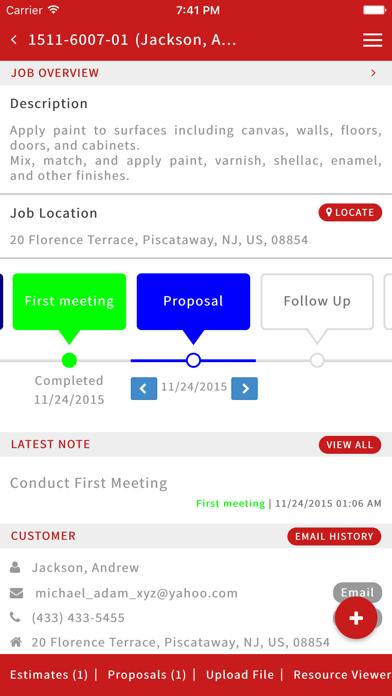JobProgress screenshot four