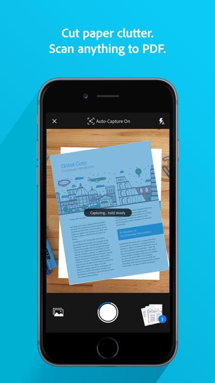 Adobe Scan: Doc Scanner to PDF screenshot-3